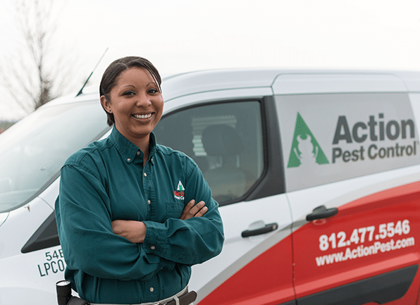 licensed friendly pest control technician
